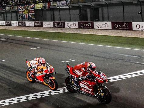 hasil kemenangan dovi ducati  motogp qatar  menuai