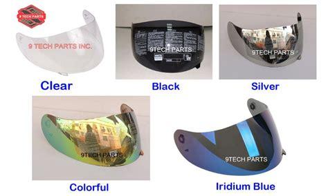 Kaca Helm Agv K3 Sv Iridium Blue Visor motorcycle helmet racing shield lens k3 k4 k4 evo visor not for k3 sv colors black