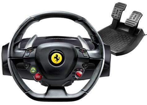 volanti per xbox 360 458 italia racing wheel for xbox 360 pc