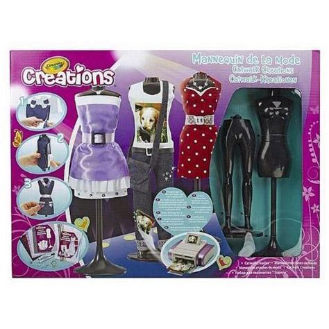 fashion design kit crayola catwalk creations girls fashion design studio