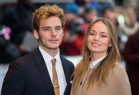 husbands cutting their wives hair games hunger games star sam claflin and actress laura haddock