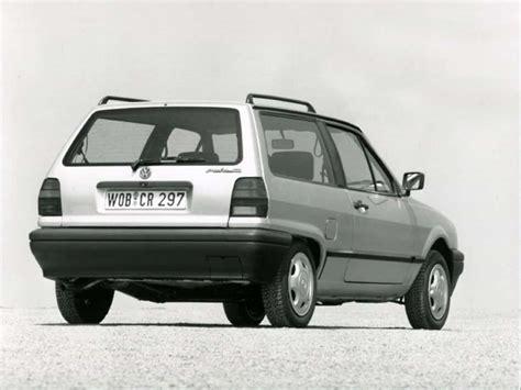 volkswagen hatchback 1990 volkswagen polo 86c histoire et fiche technique auto