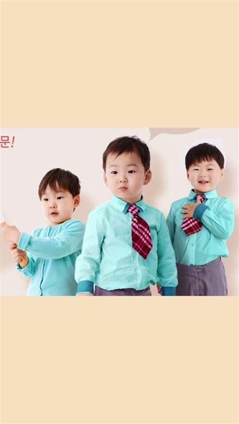pin  yuliani syifaa putri   babies song triplets superman kids triplets