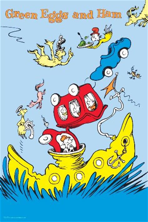 living on a boat in reading green eggs and ham pictures