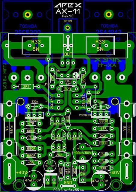 Pcb Power Apex pcb power apex ax 11 pcb s layout design