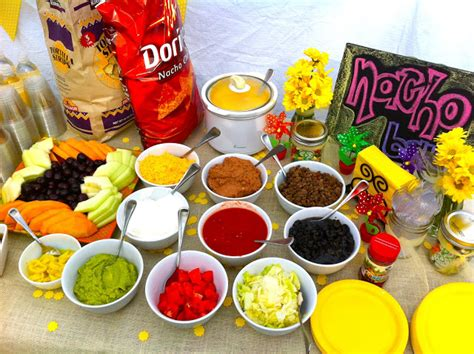 nacho bar topping ideas calling all angels makenzie s 3rd birthday decor
