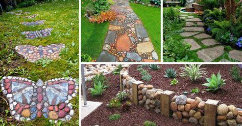 como decorar jardins pequenos pedras jardins pedras decorativas