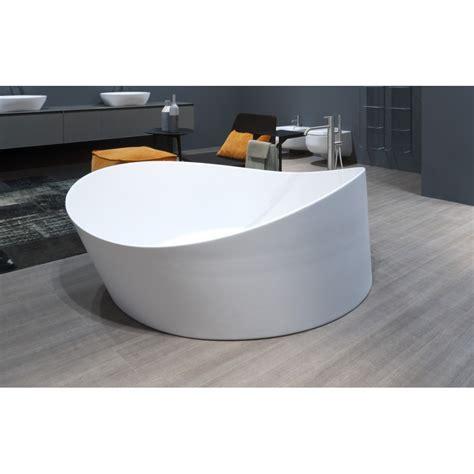 vasca da bagno tonda vasca da bagno tonda a semincasso in cristalplant di