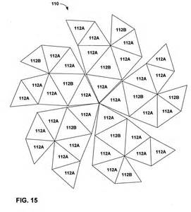 geodesic dome template patent us20050022461 constructing geodesic domes with