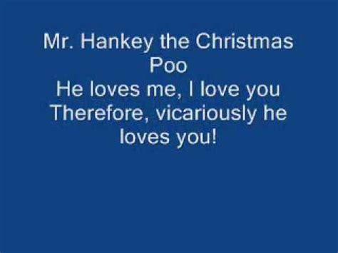 mr hankey song lyrics doovi - Hankey The Christmas Poo Song