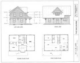 House Plans Drawings by Post Amp Beam House Plans And Timber Frame Drawing Packages