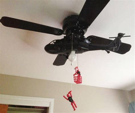 Ceiling Fan Helicopter by Yes Ceiling Fan Modded Into Helicopter Ceiling Fan Geekologie