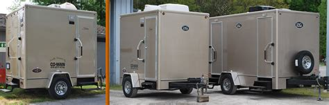 bathroom trailers portable restroom trailers