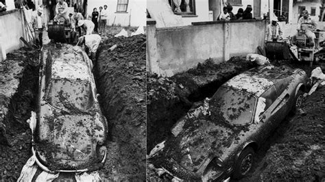 buried in your backyard the true story of how a ferrari ended up buried in someone