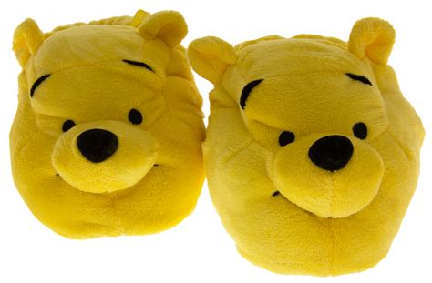 winnie the pooh house shoes girls boys disney novelty slippers winnie the pooh kids size 2 baby to 2 older ebay