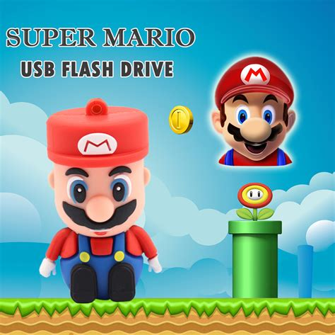 flashdisk mario 8gb 2016 mario usb flash drive 16gb 8gb storage memory