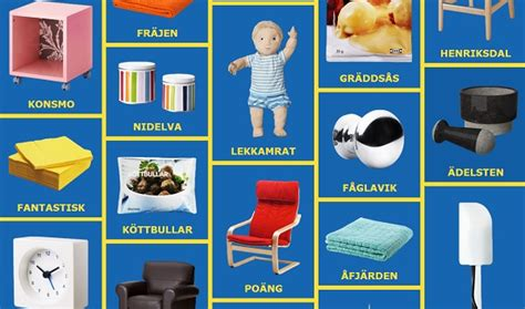 Ikea Product Names | 11 things you never knew about ikea weird names most