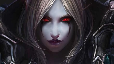 wallpaper dark elf elf dark elf the stare desktop wallpapers and