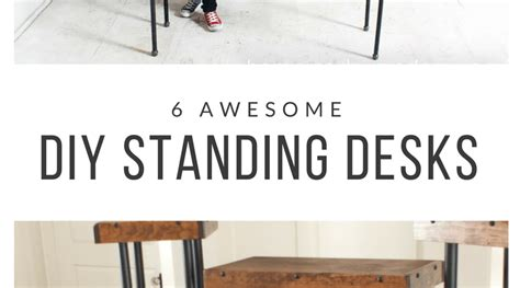 diy standing desks 6 diy standing desks you can build notsitting