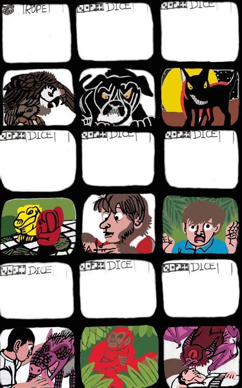 jumanji cards   tcr  deviantart