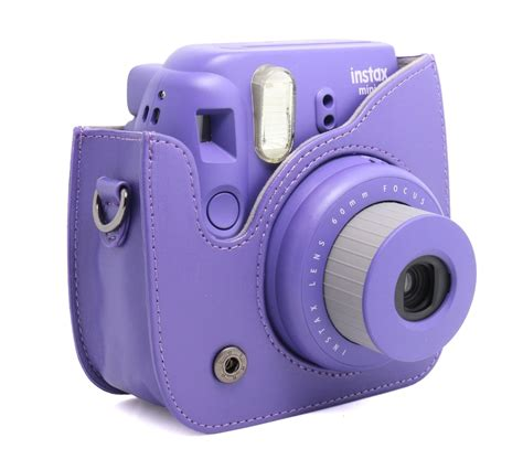 Instan Evelina 2 Layer Mini where to get adorable purple cases for instax mini 8