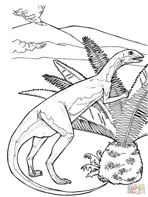 herbivorous animals coloring page fabrosaurus herbivorous jurassic dinosaur coloring online