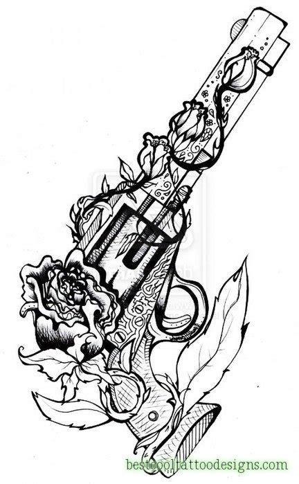 girl gun tattoo designs guns archives best cool designs