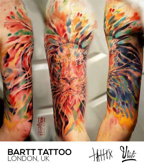 simple tattoo artists london the colors of bartt tattoo artist the vandallist