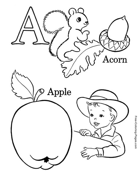 free coloring book pages alphabet alphabet coloring pages sheets and pictures 01