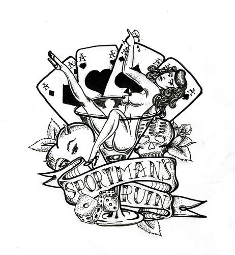 playing card tattoo designs tatto cards designs photos