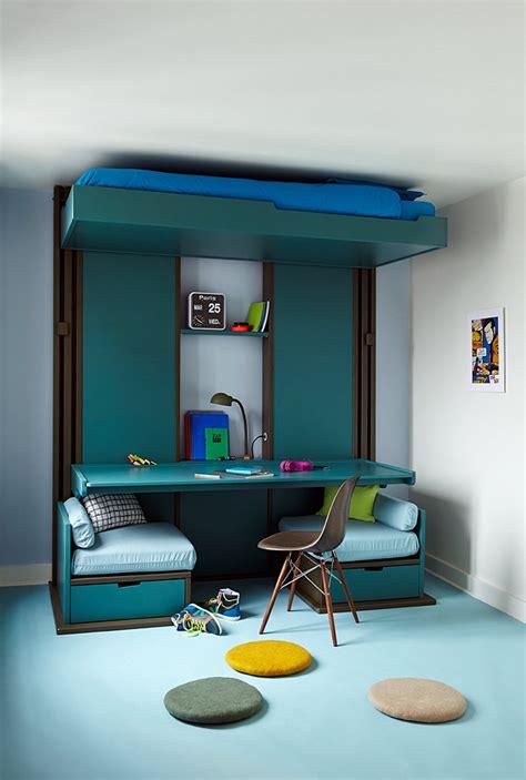 Loggia Lit by Lits Escamotables Triptyque