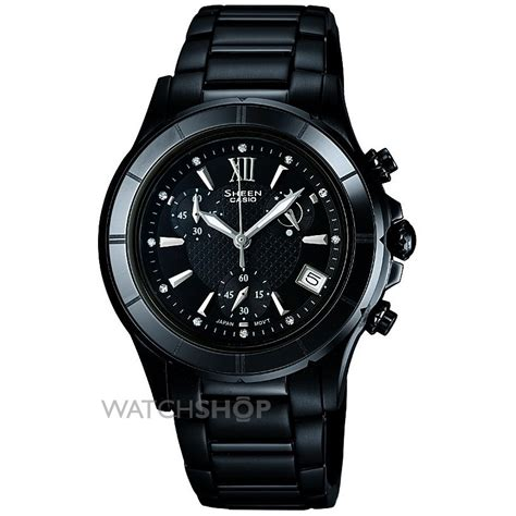 Casio Sheen Oribm Chrono casio sheen chronograph she 5516bd 1adr