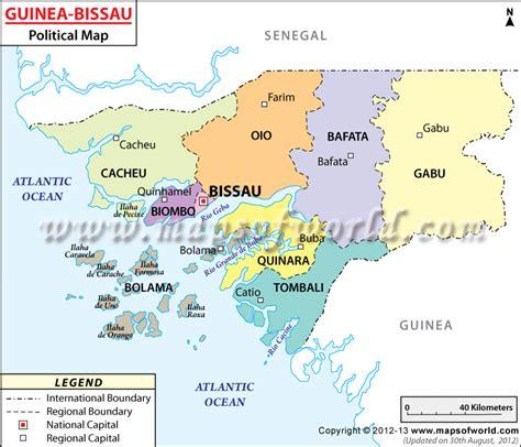 guinea bissau political map where is guinea bissau location of guinea bissau