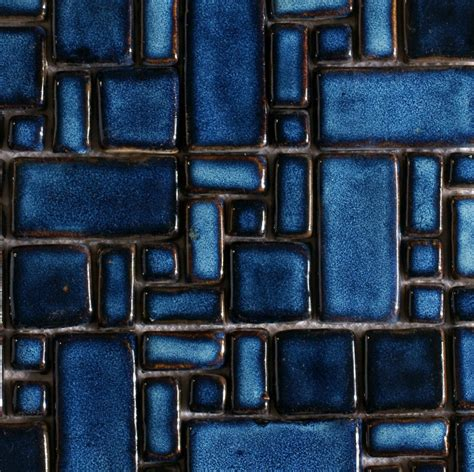 blue mosaic tile backsplash hand craft blue porcelain mosaic swimming pool tile