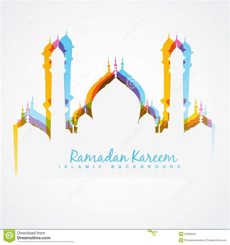 design masjid vector free download colorful mosque design royalty free stock photo image