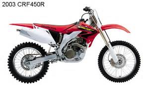 2003 Honda Crf450r Honda Cr125r And Crf450r Receive Significant Changes For