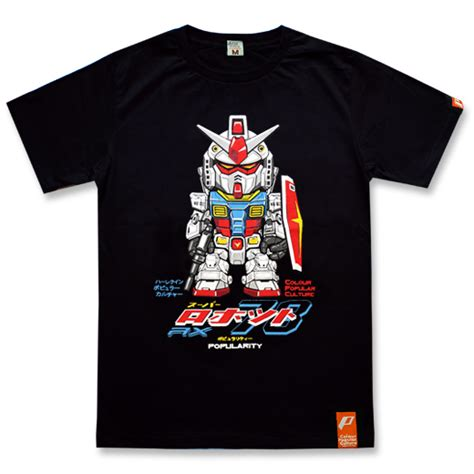 T Shirt Gundam quot rx 78 2 gundam black quot best t shirts in the world