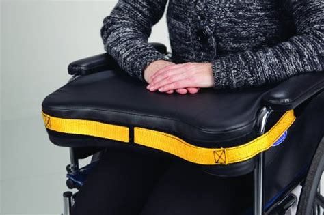 secure slc  easy release wheelchair lap tray safety positioning cushion fits