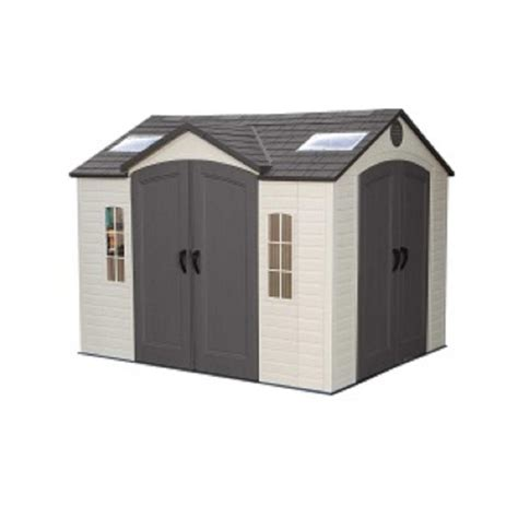 us leisure home design products us leisure 10 ft x 8 ft keter stronghold resin storage