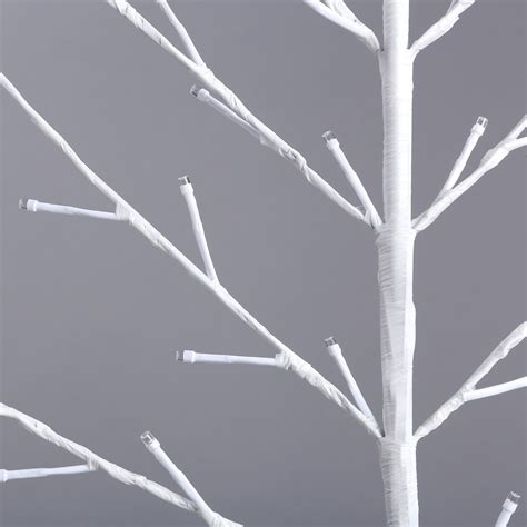 white branch tree with lights 1 2m 4ft plane tree light white branch 96leds home