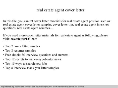 Best Resume For Storekeeper by Real Estate Agent Cover Letter