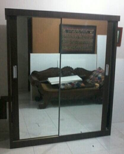 Terbatas Jepitan Gantungan Etalase Handphone jual lemari baju gantung pintu sliding cermin shalih furniture