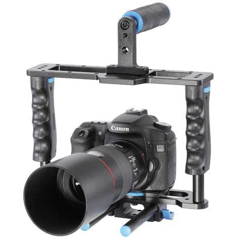 Kamera Dslr Canon Kit rig kamera dslr 5 in 1 stabilizer shoulder support follow focus black jakartanotebook
