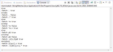 tutorial java util regex java regular expressions tutorial
