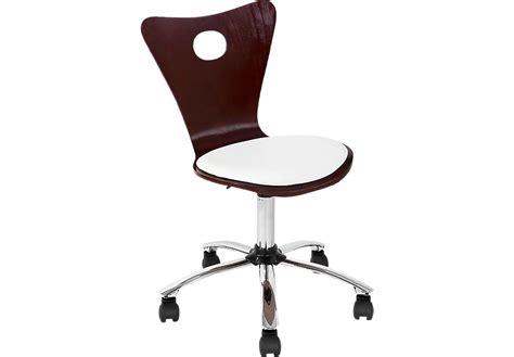 Espresso Desk Chair by Torino Espresso Desk Chair Seating Brown Wood