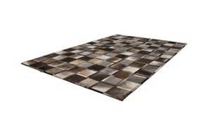 leder teppich lederteppich braun patchwork teppich leder vintage