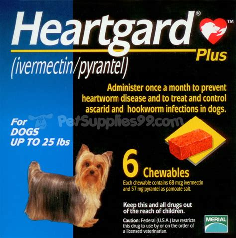 pyrantel for dogs heartgard plus for dogs