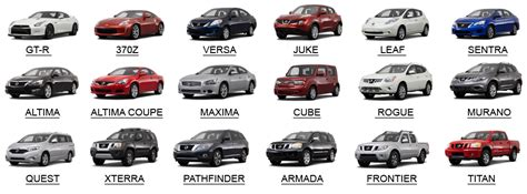 all types of nissan cars allstarmotorsok source for the
