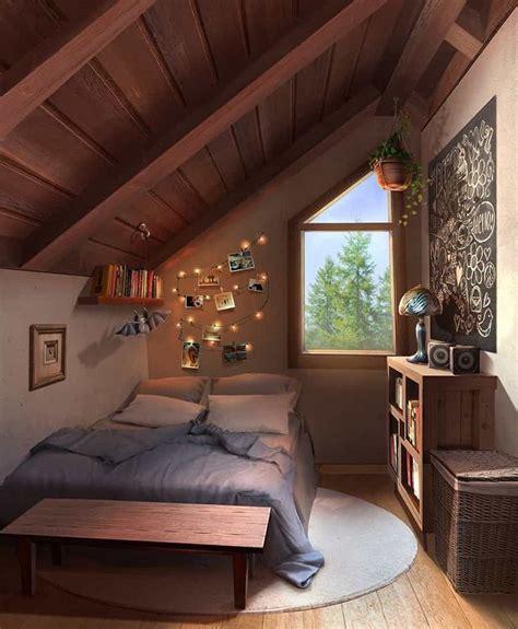 stylishly anime bedroom art   beautiful
