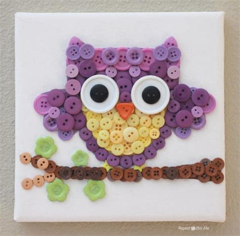 Diy Owl Decorations by Adorable Owl Diy Wall Decor Allfreekidscrafts